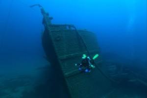 becky on grecian great lakes becky schott-1